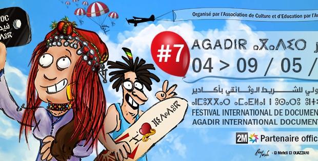 (Français) 7ème édition du Festival International de Film Documentaire à Agadir, la parole donnée aux peuples